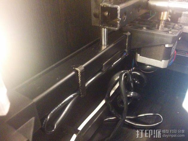 电缆夹 3D模型  图5