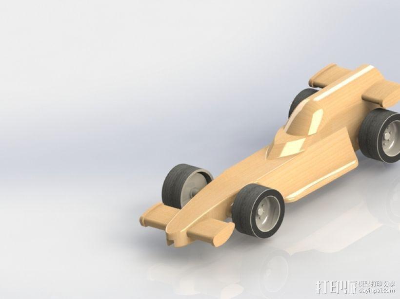 F1赛车模型 3D模型  图1
