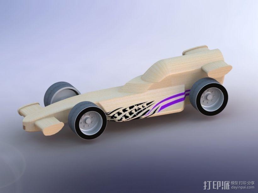 F1赛车模型 3D模型  图10