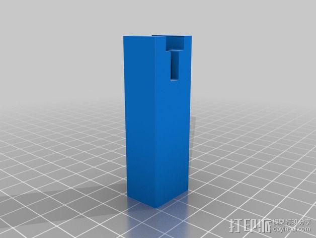 导梁和滑块 3D模型  图2