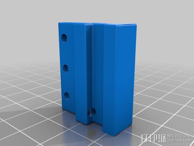 导梁和滑块 3D模型  图3