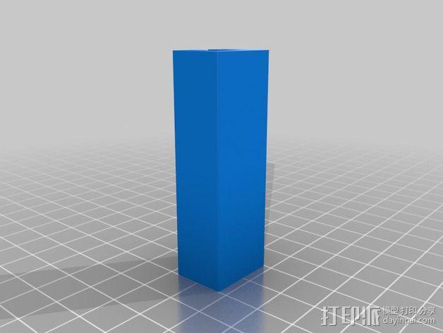 导梁和滑块 3D模型  图4