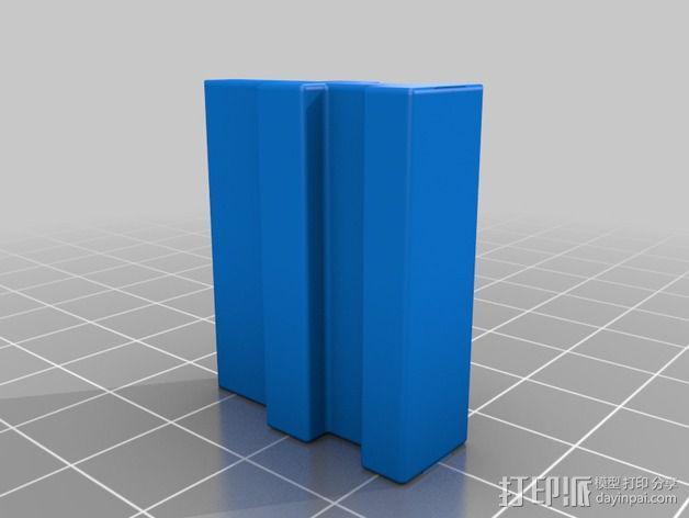 导梁和滑块 3D模型  图5