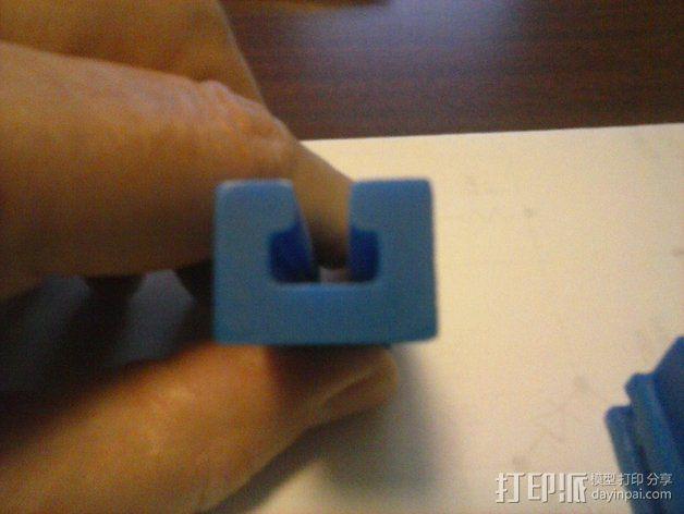 导梁和滑块 3D模型  图6