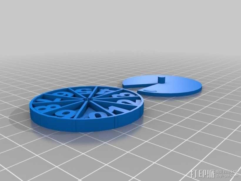 游戏计数器 3D模型  图1