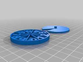 游戏计数器 3D模型