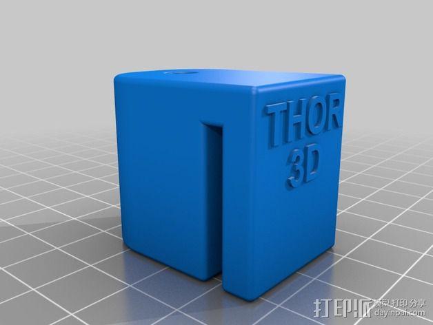 加大版的线轴支撑器 3D模型  图3