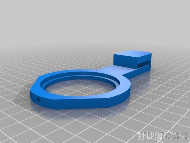 加大版的线轴支撑器 3D模型  图6