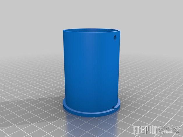 加大版的线轴支撑器 3D模型  图7