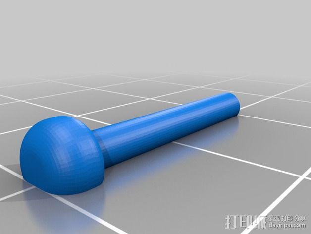 加大版的线轴支撑器 3D模型  图9