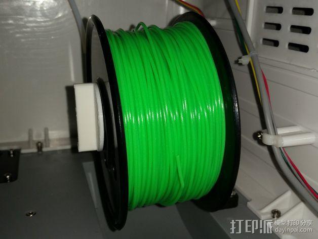 FlashForge打印机的线轴支架 3D模型  图4