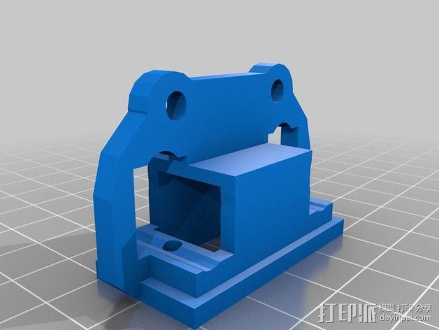 马达支架 3D模型  图6