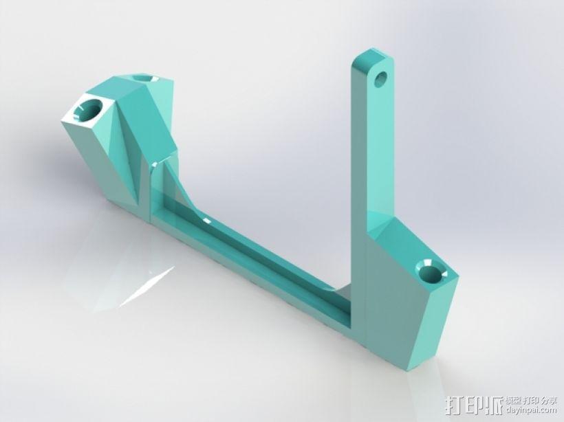 线圈支架 3D模型  图1
