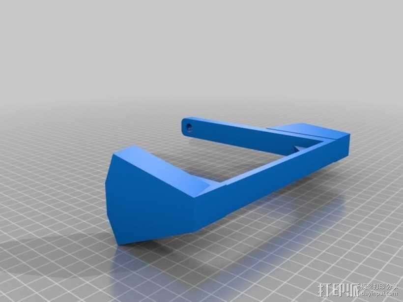 线圈支架 3D模型  图2