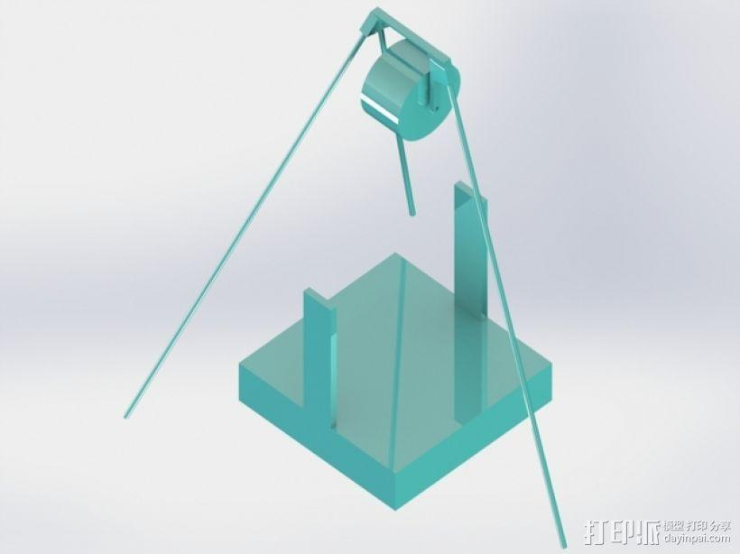 线圈支架 3D模型  图3