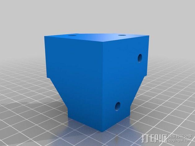 转角固定器 3D模型  图2