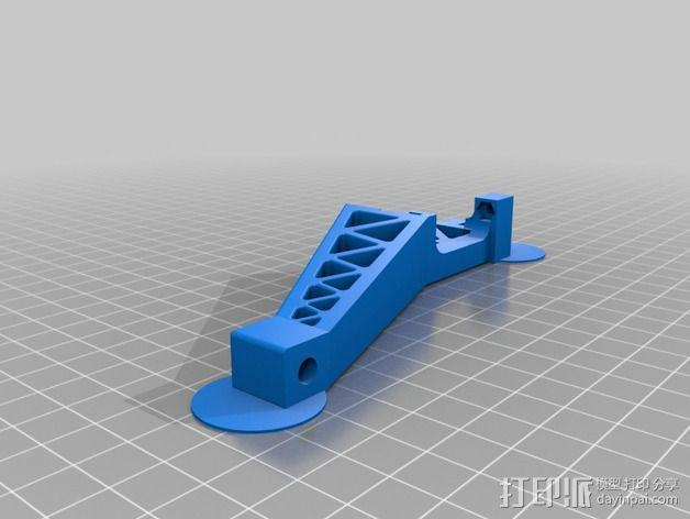 Prinrtbot Metal Simple打印机的支撑架 3D模型  图2
