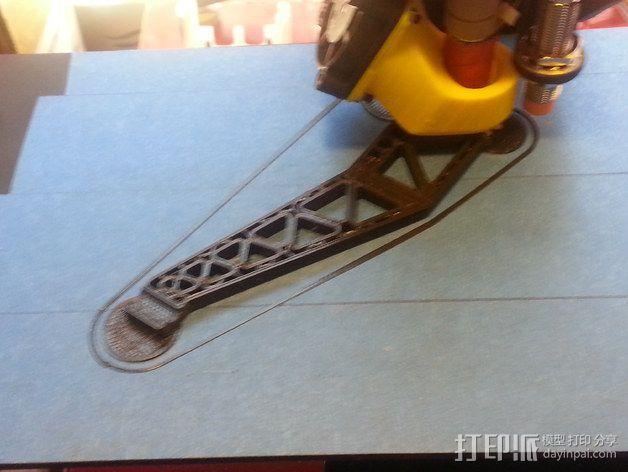 Prinrtbot Metal Simple打印机的支撑架 3D模型  图1