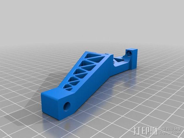 Prinrtbot Metal Simple打印机的支撑架 3D模型  图4