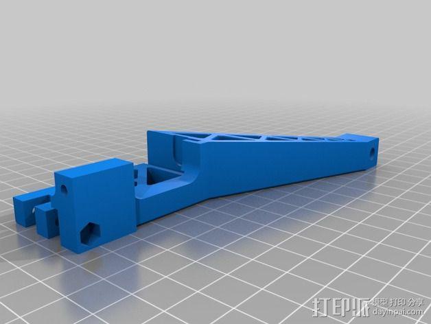Prinrtbot Metal Simple打印机的支撑架 3D模型  图5