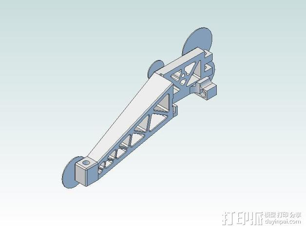 Prinrtbot Metal Simple打印机的支撑架 3D模型  图11