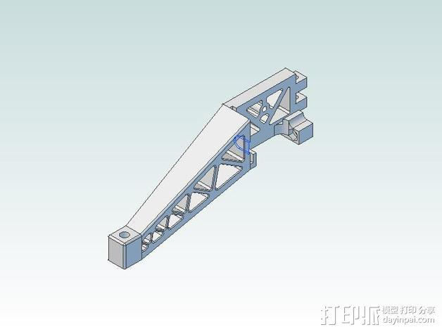 Prinrtbot Metal Simple打印机的支撑架 3D模型  图9