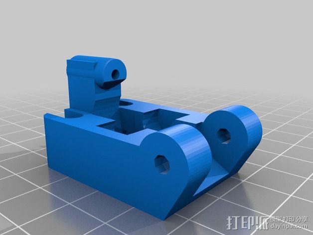 1.75毫米的挤出机支架 3D模型  图3