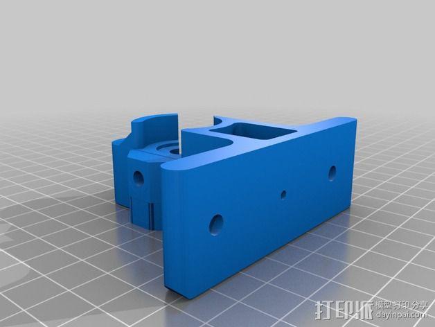 1.75毫米的挤出机支架 3D模型  图4