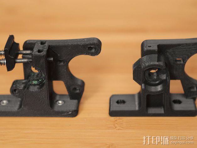 1.75毫米的挤出机支架 3D模型  图6