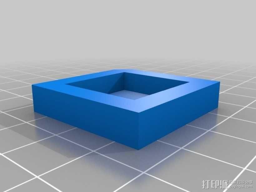 双挤出机打印测试  3D模型  图3