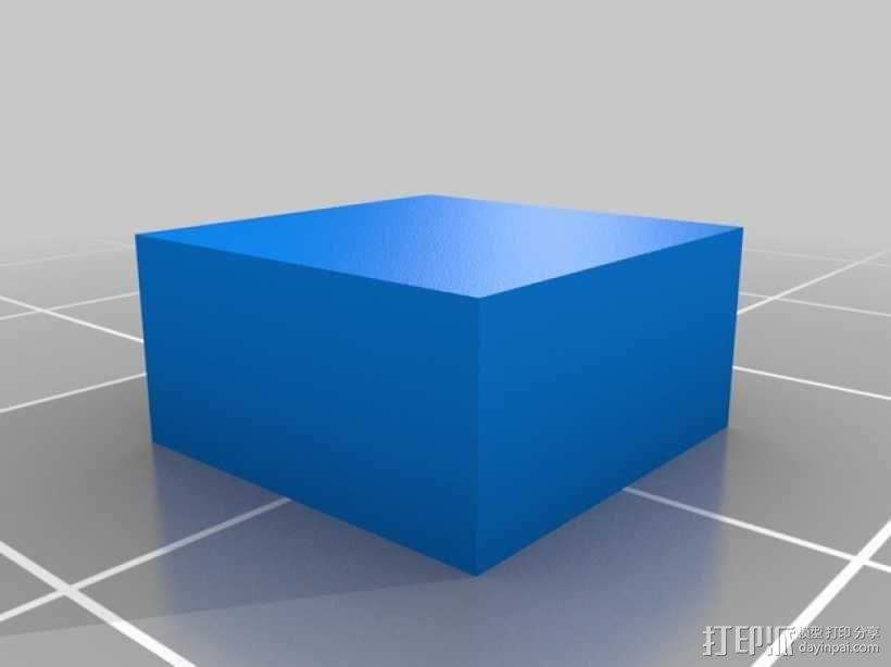 双挤出机打印测试  3D模型  图4