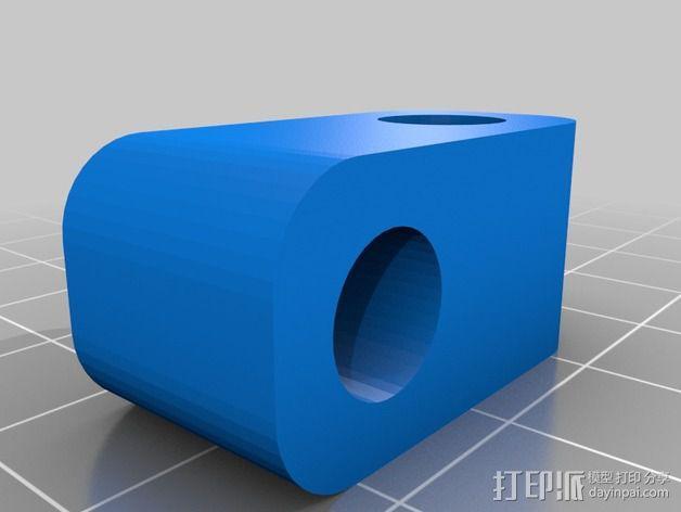 Prusa i3 打印机的撑脚和线轴支架 3D模型  图3
