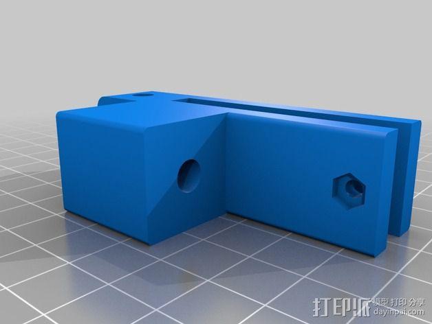 Prusa i3 打印机的撑脚和线轴支架 3D模型  图5