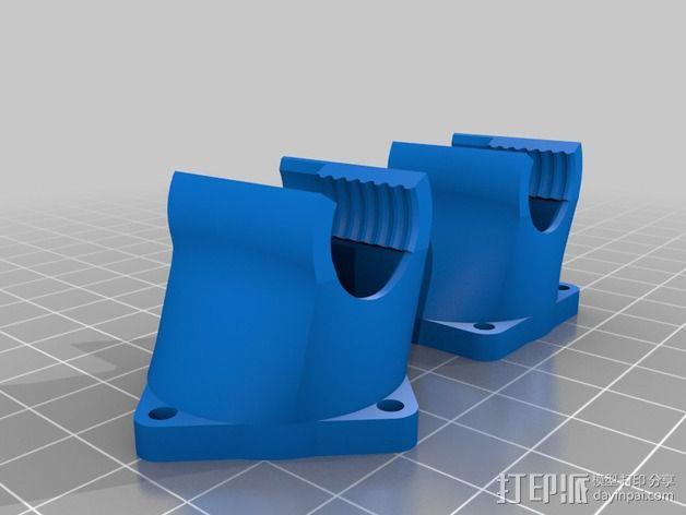 30毫米的风扇罩 3D模型  图1