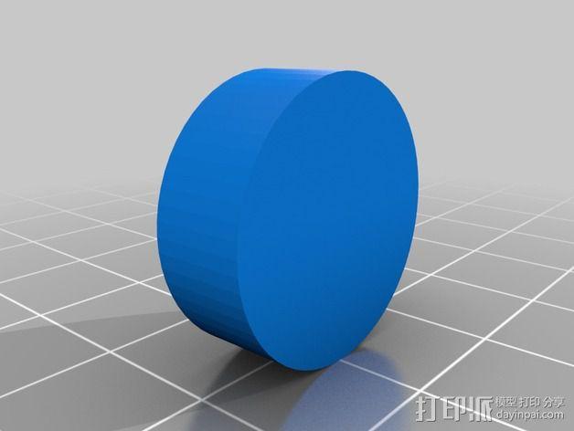 可调节的限位开关 3D模型  图4