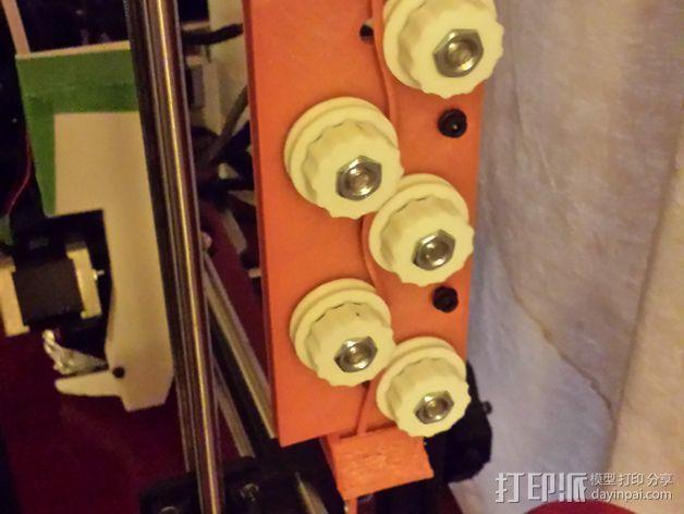 线材拉直器 矫直器 3D模型  图2