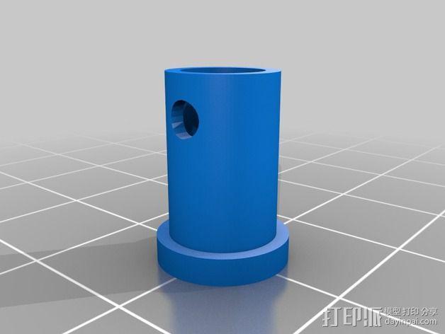 轴杆适配器 轴承 3D模型  图7