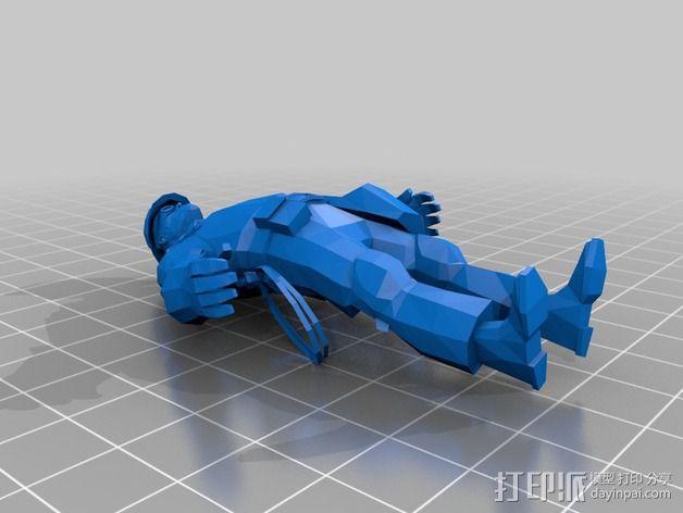 军团要塞 工程师 3D模型  图1