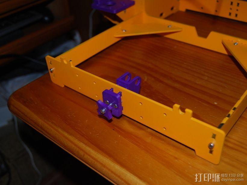 Y轴惰轮支架 3D模型  图5