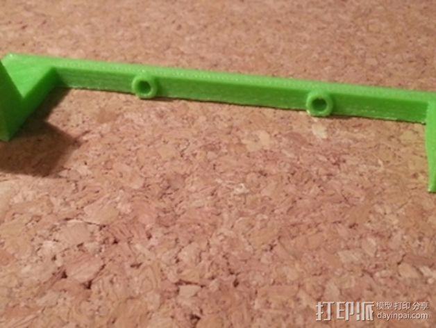 Solidoodle 3打印机的电路板散热风扇 3D模型  图2