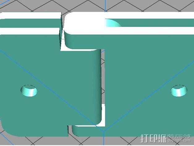 Zortrax M200打印机的铰链 3D模型  图2