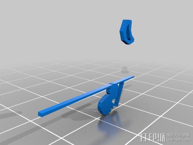 哈罗德和紫色的蜡笔 3D书 3D模型  图4