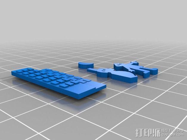 哈罗德和紫色的蜡笔 3D书 3D模型  图5