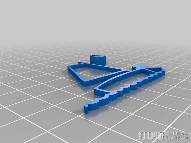 哈罗德和紫色的蜡笔 3D书 3D模型  图10