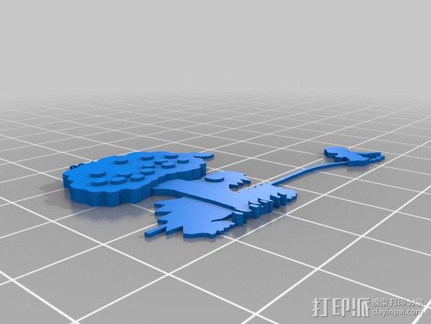 哈罗德和紫色的蜡笔 3D书 3D模型  图11