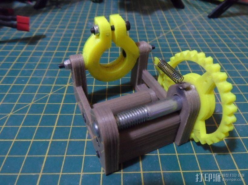 M8 滚铣螺栓 3D模型  图1