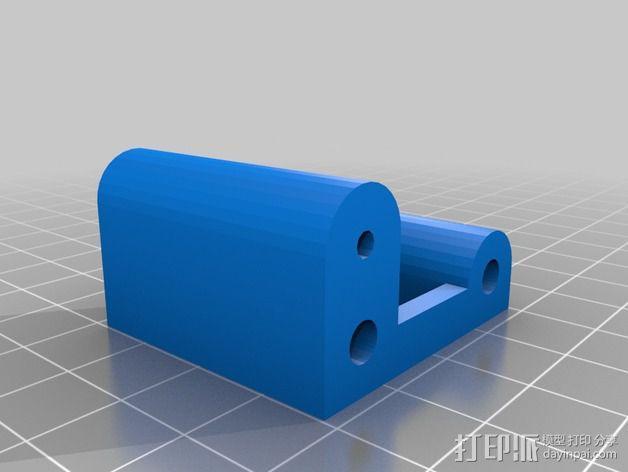 M8 滚铣螺栓 3D模型  图2