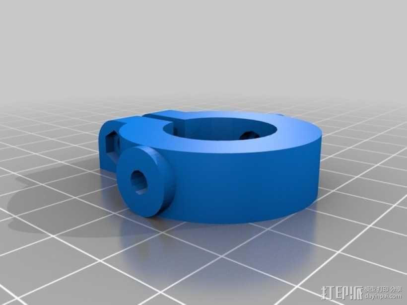 M8 滚铣螺栓 3D模型  图4