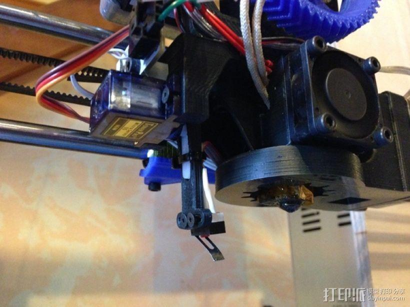 Prusa i3打印机的风扇 3D模型  图1
