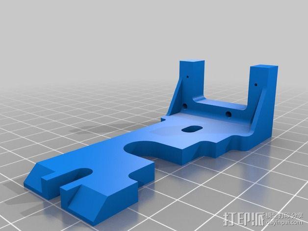 Prusa i3打印机的风扇 3D模型  图2